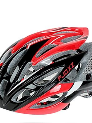FJQXZ Ultralight 26 Vents PC + EPS Red Jízda na kole helmu