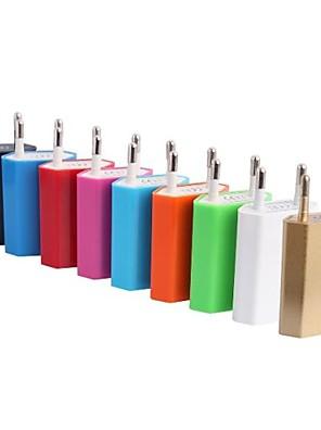 eu ac csatlakozó USB2.0 úti töltő adapter iPhone 6 iPhone 6 plusz / Samsung / HTC telefon (1a 100-240V)