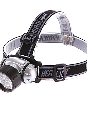 תאורה פנסי ראש LED 190 Lumens 4 מצב - AAA טקטי / גודל קומפקטי / גודל קטן רב שימושי פלסטיק / ABS