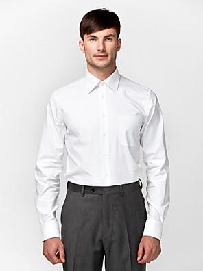 camisa sólido branco 100% algodão