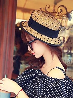 נשים האופנה נטו חוט תחרת כובע קש