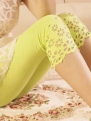 Maternidade Tópico oco Flor Side Abdominal calças Capri