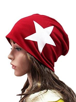 coreano chapéu estrela algodão do unisex