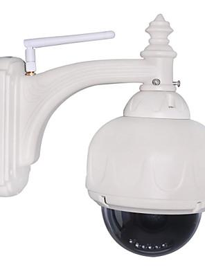 PTZ kültéri IP kamera 3x-os optikai zoom IR-cut vízálló nappal este vezeték nélküli