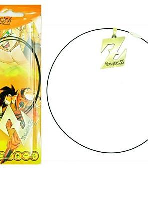 תכשיטים קיבל השראה מ Dragon Ball קוספליי אנימה אביזרי קוספליי שרשרת כסף סגסוגת זכר / נקבה