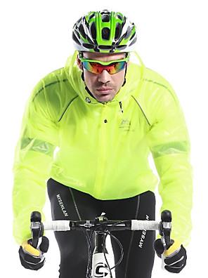 MYSENLAN® ג'קט לרכיבה לגברים שרוול ארוך אופניים נושם / שמור על חום הגוף / ייבוש מהיר / עמיד / עמיד אולטרה סגול / מוגן מגשםג'קט / מעיל גשם