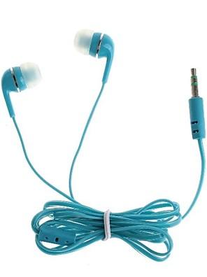 אוזניות 3.5mm שקע באוזן עבור iPhone / iPod / HTC / סמסונג (110cm)