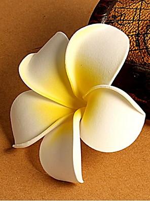 פרחי פראנגיפאני אתר נופש בחוף ים יוניסקס אביזרי שיער כלה