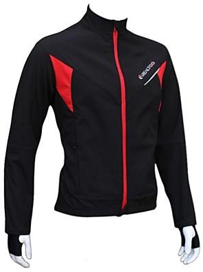 REALTOO® ג'קט לרכיבה לנשים / לגברים / יוניסקס שרוול ארוך אופנייםעמיד למים / נושם / שמור על חום הגוף / עמיד / בטנת פליז / מוגן מגשם / ללא