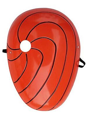 Maska Inspirovaný Naruto Madara Uchiha Anime Cosplay Doplňky Maska Czerwony PVC Pánský
