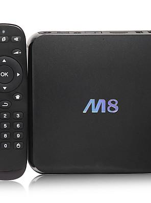 Amlogic M8 Mini PC Quad Core Android TV Box Android 4.4 KiKat Cortex A9 2GB RAM 8GB 4K Video Bluetooth HDMI WiFi Media Player