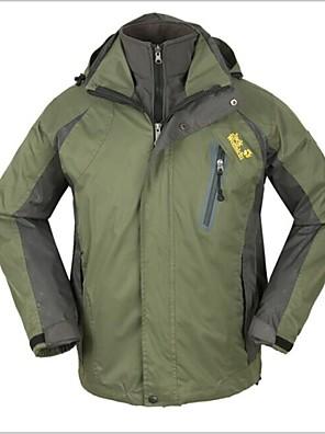 Esterno Per uomo Giacche 3-in-1 / Giacca invernale Campeggio e hiking / Scalate / Attività ricreative / Sport da neve / Snowboard