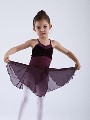 Dětské taneční kostýmy Sukně Dětské Trénink Šifón Jeden díl Sukně 27CM