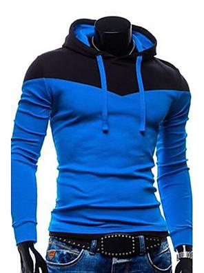 Men's Black/Red/Gray Hoodie & Sweatshirt,Long Sleeve