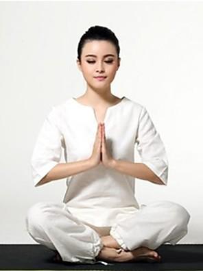 Jóga Sady oblečení/Obleky Rychleschnoucí / Antistatický / Antibakteriální Není elastické Sportovní oblečení DámskéJóga