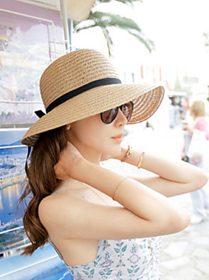 כובע קש נשים יום יומי , קש קיץ