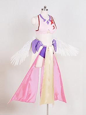 žádná hra není život Jibril cosplay kostým anděl cosplay kostým