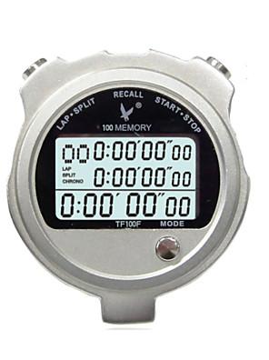 kov elektronický časovač stopky tf100f tři řádku 100 paměťové pohybu stopky stopky s časovačem
