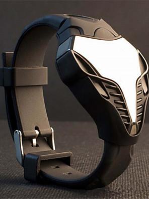 cobra levou relógio visor colorido luz esporte relógios de pulso digital de estilo caça stealth