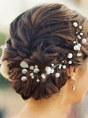 Ženy Imitace perly Přílba-Svatba / Zvláštní příležitost Vlásenka 6 kusů