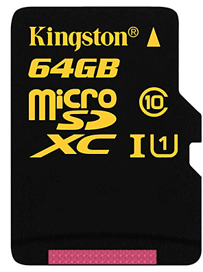 Kingston 64 GB class sdca10 10 UHS-i mikro Paměťová karta SDXC