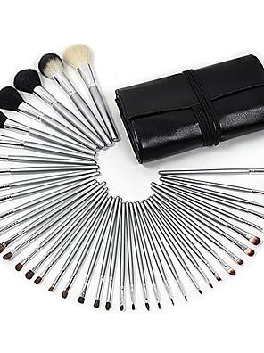 40 Conjuntos de pincel Outros / Escova de Cabelo de Cabra / Escova Poney / Escova de Nailom Lábio / Olhos / Rosto