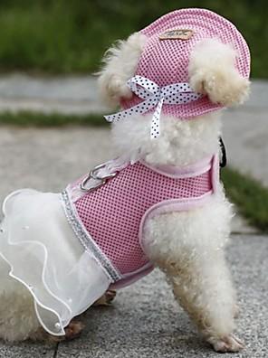 kočičky / pejsky Popruhy / šátky a kloboučky Červená / Oranžová / Modrá / Fialová / Černá / Růžová Oblečení pro psy Léto / Jaro/podzim