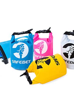 2 L עמיד למים יבשים תיק / טיולי תרמיל מחנאות וטיולים / שחייה / חוף / לטייל / Emergency / Survial / Securityטבע / הצגה / אימון / ספורט