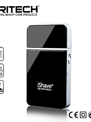 Elektrisk barbermaskine Herre Ansigt Manual / Elektrisk / Vibrerende Skær / Barbering TilbehørLED Lys / Ergonomisk Design / Tør/Våd