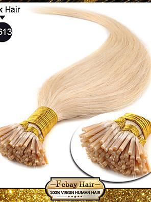 Jeg tip hår extensions blonde (613 #)