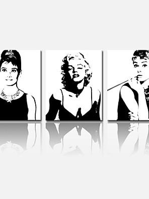 star®audrey Hepburn visivo Stampa trasferimenti su tela arti decorazione marilyn monroe casa stella