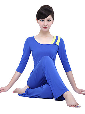 יוגה מדים בסטים חומרים קלים מתיחה בגדי ספורט לנשים-Shuya,יוגה / פילאטיס / כושר גופני / ספורט פנאי / ריצה