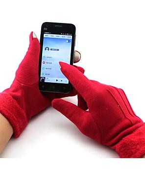 כפפות כפפות ספורט/ פעילות לנשים כפפות רכיבה סתיו / חורף כפפות אופניים שמור על חום הגוף / נושם / עמיד בפני רוחות / בטנת פליזעל כל האצבע /
