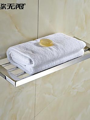 weiyuwuxian® hedendaagse quadrate roestvrij staal handdoek rek