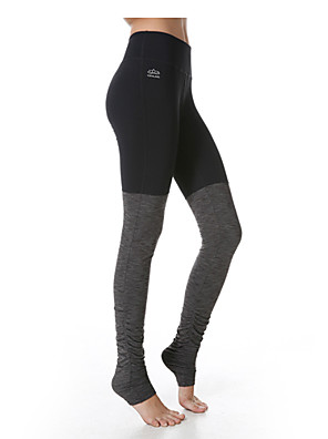calças de yoga Fundos Respirável / Secagem Rápida Natural Stretchy Wear Sports Mulheres Yokaland® Ioga / Pilates / Exercicio e Fitness
