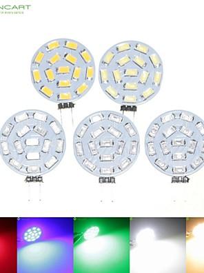 8W G4 Lâmpadas de Foco de LED MR11 15 SMD 5630 700-900 lm Branco Quente / Branco Natural / Vermelho / Azul / Verde RegulávelAC 24 / DC 24