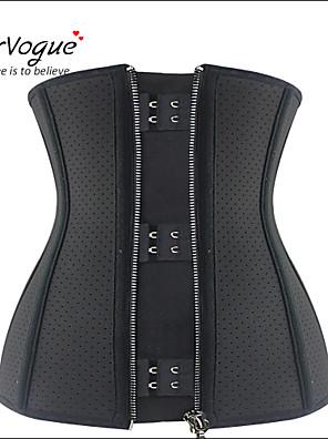 Vrouw Onderbuste korset / Grote maten Nachtkleding Katoen / Netstof / Polyester / Spandex / Modal Zwart Vrouwen