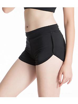מכנס קצר מרופד לרכיבה לנשים נושם / ייבוש מהיר / תומך זיעה אופניים מכנסיים קצרים אחיד יוגה