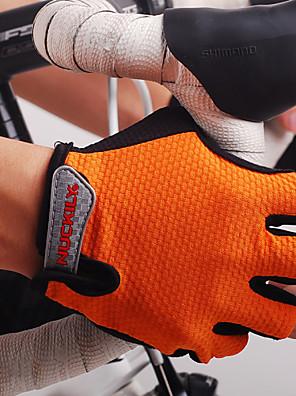 NUCKILY® Akvitita a sport Dámské / Pánské Bisiklet Eldivenleri Jaro / Léto / Podzim Rukavice na koloOdolné vůči šokům / Prodyšné / Odolný