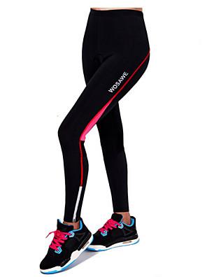 מכנסי רכיבה לנשים נושם / 3D לוח / רצועות מחזירי אור אופניים תחתיות טרילן טיפוס / ספורט פנאי / רכיבה על אופניים/אופנייים / אזור נידחאביב /