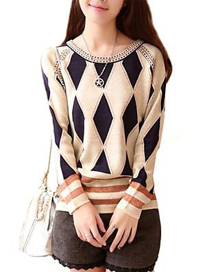 dámské kolo límec móda elegantní úplet pulovr