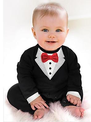 אדון תינוק תינוק 3-24m בגדי סרבל פעוט שזה עתה נולד שרוול ארוך סתיו אביב גפן rompers