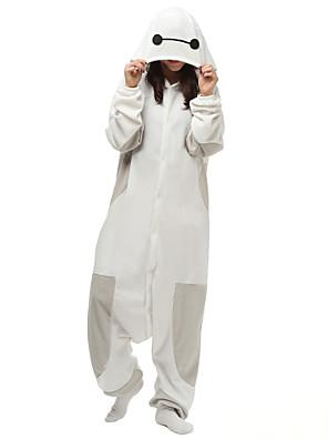 Kigurumi פיג'מות אנימציה /סרבל תינוקותבגד גוף פסטיבל/חג הלבשת בעלי חיים Halloween לבן אחיד פליז ארקטי Kigurumi ל יוניסקסהאלווין (ליל כל