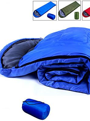 Saco de dormir Retangular Solteiro (L150 cm x C200 cm) +5°C~+15°C Algodão 190CM+30cm X 75cmEquitação / Campismo / Viajar / Caça /