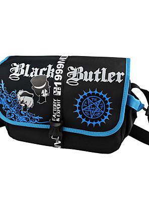 Bolsa Inspirado por Black Butler Ciel Phantomhive Anime Acessórios de Cosplay Bolsa Preto Náilon Masculino / Feminino
