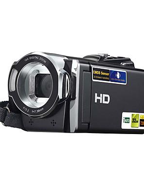 DV מצלמה HDV-614p 3 מיליון CMOS פיקסלים 2.7 אינץ '270 ° סיבוב תצוגת TFT 16x כרטיס זום תמיכה SD
