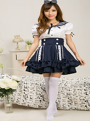 Lovely Prom Lolita Dress Sailor School Style Suit