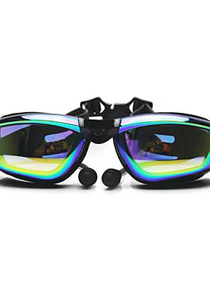FEIUPE svømmebriller Dame / Herre / Unisex Anti-Tåge / Vandtæt / Justerbar Størrelse / Anti-UV Silika Gele PCOthers / Gennemsigtige /