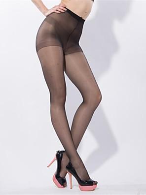 Vrouw-Zijde-Dun-Panty