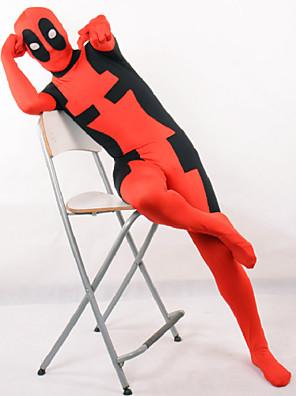 תחפושות קוספליי גיבורי על תחפושות משחק של דמויות מסרטים אדום טלאים /סרבל תינוקותבגד גוף האלווין (ליל כל הקדושים) / חג המולד / ראש השנה ילד